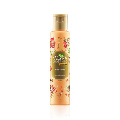 Nurish Organiq 24K Gold Face Toner 100ml
