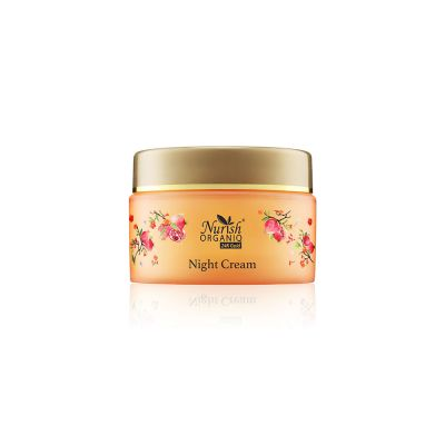 Nurish Organiq 24K Gold Moisturizing Night Cream 40ml