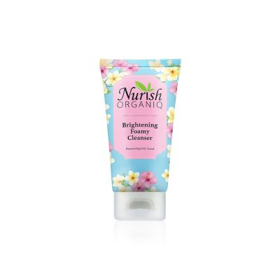 Nurish Organiq Brightening Foamy Cleanser (50ml)