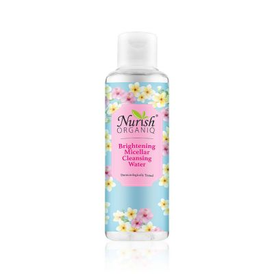 Nurish Organiq Brightening Micellar Cleansing Water 150ml