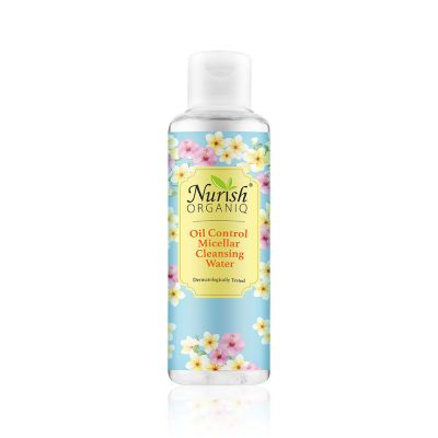 Nurish Organiq Oil Control Micellar Cleansing Water 150ml